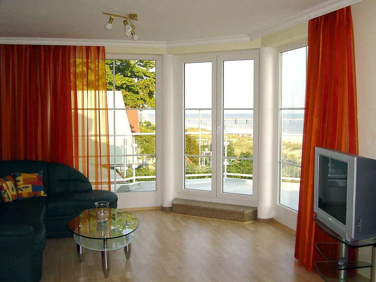 vorhänge für wohnzimmer:Appartement